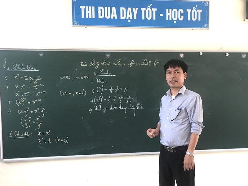 Thầy giáo Nguyễn Đức Trường